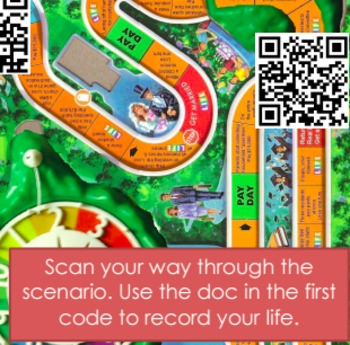 How Much is Life Gameboard