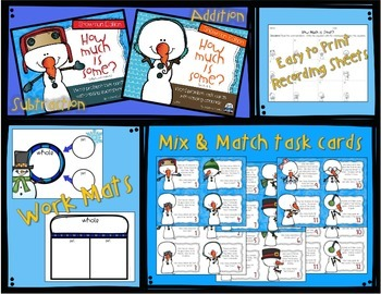 How Much is Some? Addition & Subtraction word problems with missing parts