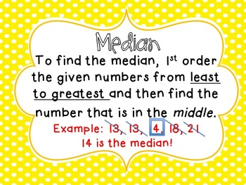 How Much is Your Name Worth? Find the Mean, Median Mode of Your Name!