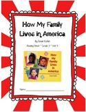 How My Family Lives in America CCSS Comprehension Booklet Reading Street Unit 5