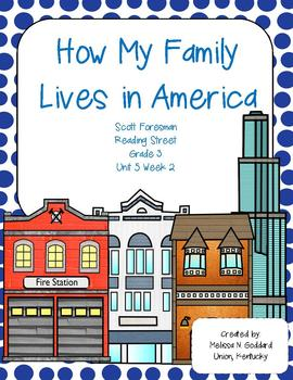 How My Family Lives in America : Reading Street : Grade 3