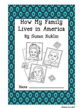 How My Family Lives in America Workbook