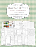 How My Garden Grows - Metric Version - Project Based Learning Farming Simulation