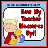 How My Teacher Measures Up - Teacher Evaluation by Student