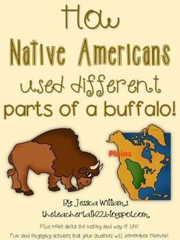 How Native Americans used Buffalo