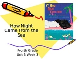 How Night Came from the Sea Vocabulary Powerpoint