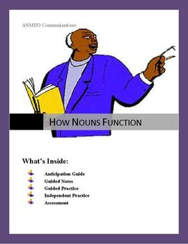 How Nouns Function