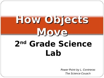 How Objects Move, 2nd Grade