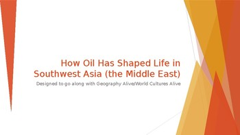 How Oil has Shaped Life in Southwest Asia