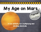 Multiplying on Mars (Operations with Decimals)