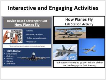 How Planes Fly - 5E Lesson Bundle