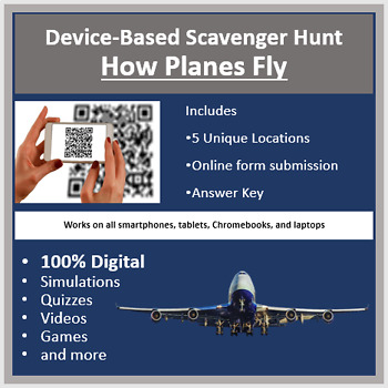 How Planes Fly – A Digital Scavenger Hunt Activity