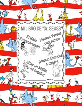 c2fe1df4 ... Dr. Seuss Booklet -The cat in the Hat, Green eggs and jam &