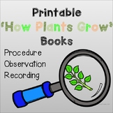 How Plants Grow Book's: PRINT AND GO!