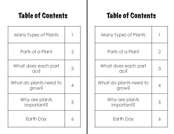 How Plants Grow & Earth Day- Nonfiction Book for Emergent & Early Fluent Readers