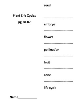 How Plants Grow and How Seeds Travel Activities to go with ppt