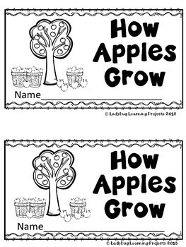 How Apples Grow (A Sight Word Emergent Reader)