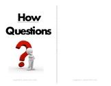 How Questions Flipbook