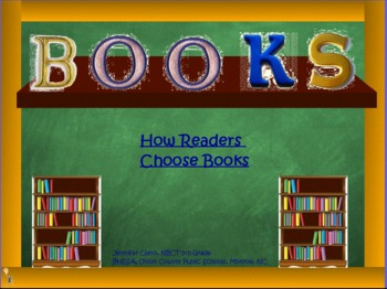 How Readers Choose Books