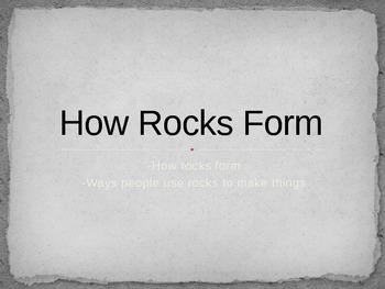 How Rocks Form