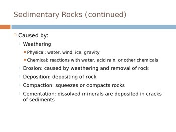 How Rocks Form Power Point