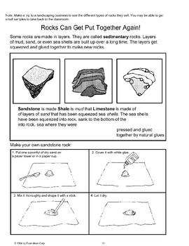 How Rocks Get Their Start