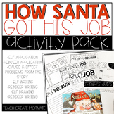 How Santa Got His Job Activities
