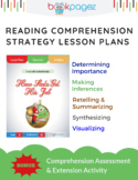 How Santa Got His Job Comprehension Strategy Lesson Plans