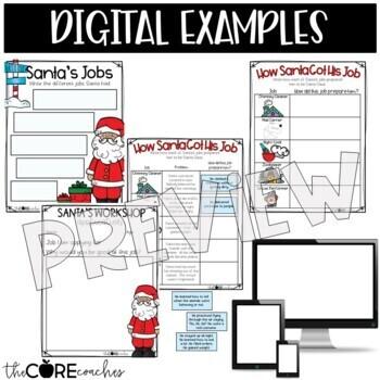 How Santa Got His Job Read-Aloud Activity