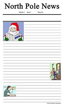 How Santa Got His Job Writing Unit