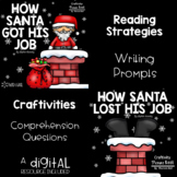 How Santa Got His Job and How Santa Lost His Job Activity Pack