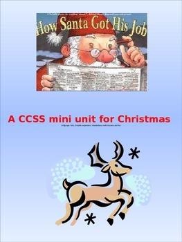 How Santa got his job CCSS aligned