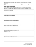 Common Core: How Setting Affects Plot__Graphic Organizer
