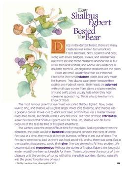 How Shalbus Egbert Bested the Bear