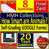 How Smart Are Animals? 6th Grade HMH Collections 2 Activities