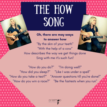 """""""How"""" Song"""