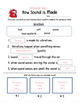 How Sound is Made: Vibrations- Vocabulary Worksheet & Answer Key (1st Grade)