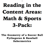 Reading in the Content Areas: How Sports Use Math 3 Pack