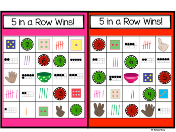 How Sweet It Is! Kindergarten Math Centers for Numbers 1 to 12