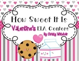 Valentine's Day ELA Centers Upper Elementary