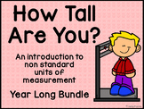 How Tall Are You? (Year Long Bundle)