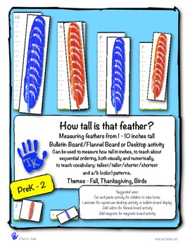 How Tall Is That Feather?