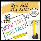 How Tall This Fall? | Back to School Music Bulletin Board