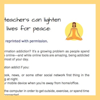 How Teachers Can Unplug Digitally To De-Stress and Be More