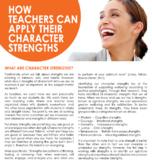 How Teachers can Apply their Character Strengths