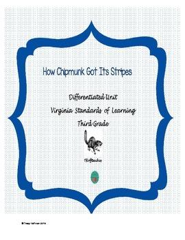 How The Chipmunk Got Its Stripes packet - VA SOLS