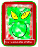 How The Grinch Stole Christmas Lesson Plan & Christmas Mat