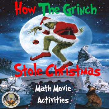 How The Grinch Stole Christmas Movie.How The Grinch Stole Christmas Math Movie Questions By