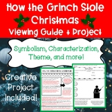 How The Grinch Stole Christmas Viewing Guide and Project