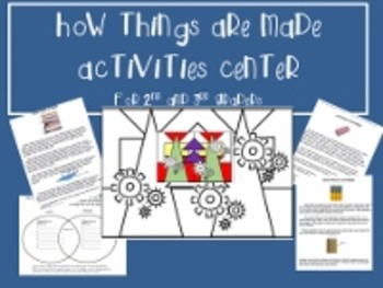 How Things Are Made Activities Center
